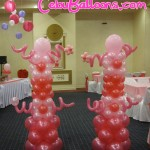 Sweet 16 Entrance Columns at Bellavista Hotel