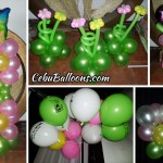 Tinkerbell Balloon Setup at URL Resto Lounge