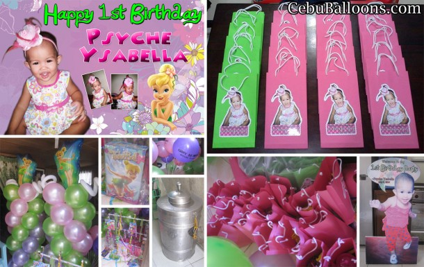 Tinkerbell Birthday Decor & Party Package at Pardo