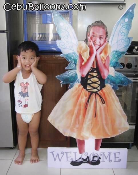 Tinkerbell Celebrant Standee with Sam