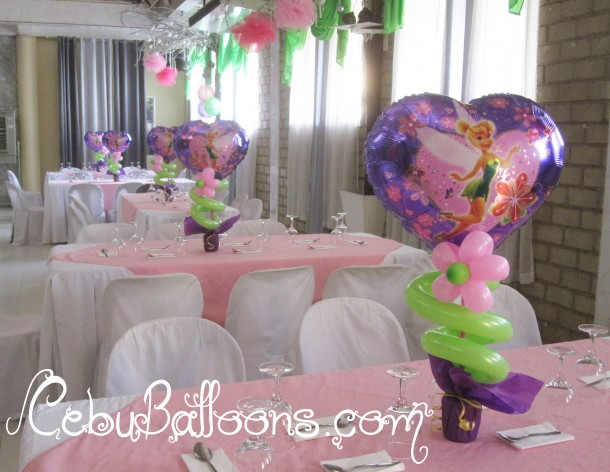 Tinkerbell Centerpieces at TLC
