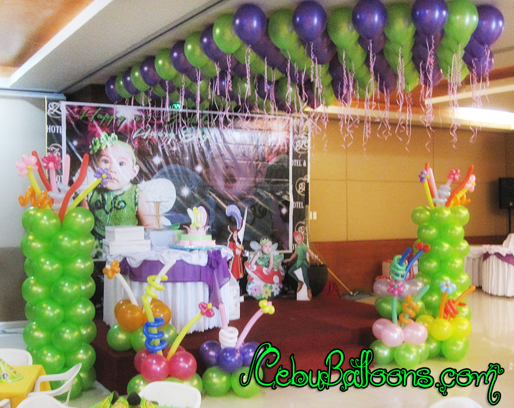 Tinkerbell balloon decorations party favors ideas for Decoration goods