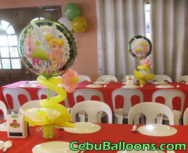 Tinkerbell Table Centerpiece