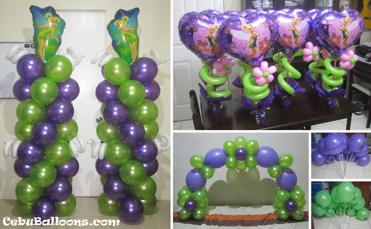 Tinkerbell Theme Sulit Decor Package B Cebu Balloons and Party