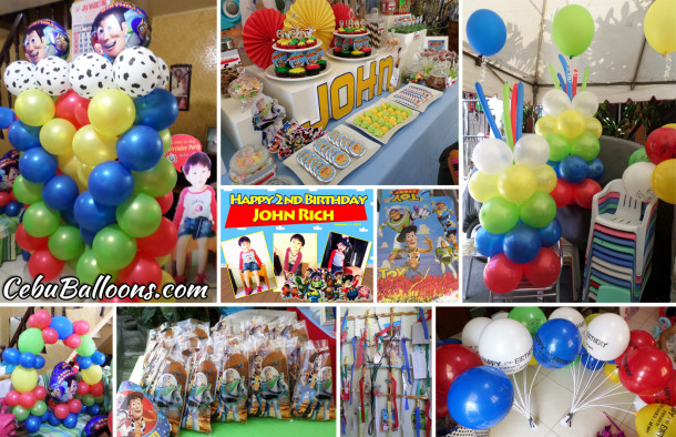 Toy Story Kiddie Party Decors, Supplies and Sweets Buffet at Deca Homes Mandaue Prime