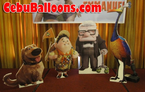 Up the Movie Character Standees
