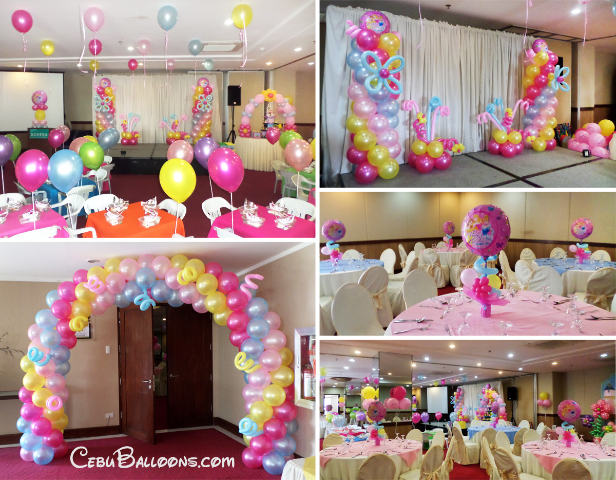 Disney Theme Decorations Disney Princess Cebu Balloons And Party Supplies