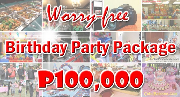 Worry-free Birthday Party Package