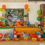Animal Safari Balloon Decor & Party Package at Maria Lina