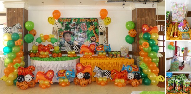 Cebu balloons and party supplies maranga for Balloon decoration for birthday party philippines