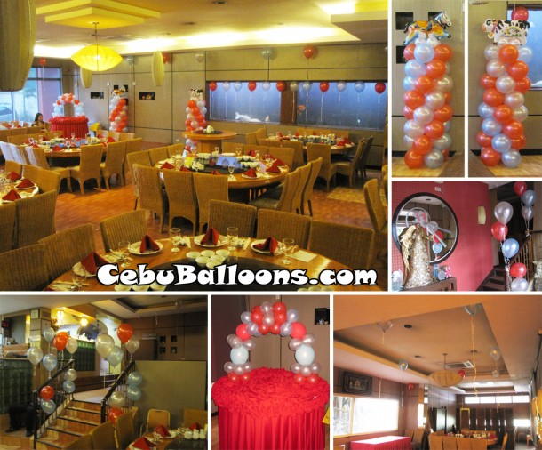 Animal Theme Balloon Decoration Package at The Ching Palace