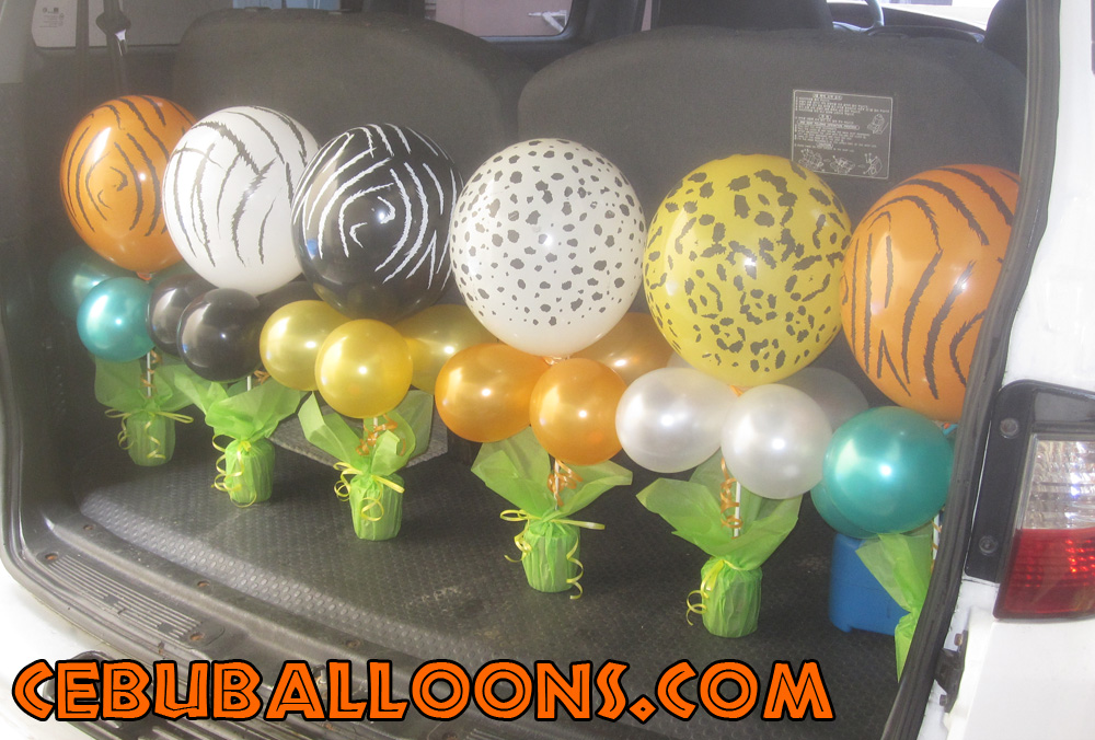 Safari cebu balloons and party supplies