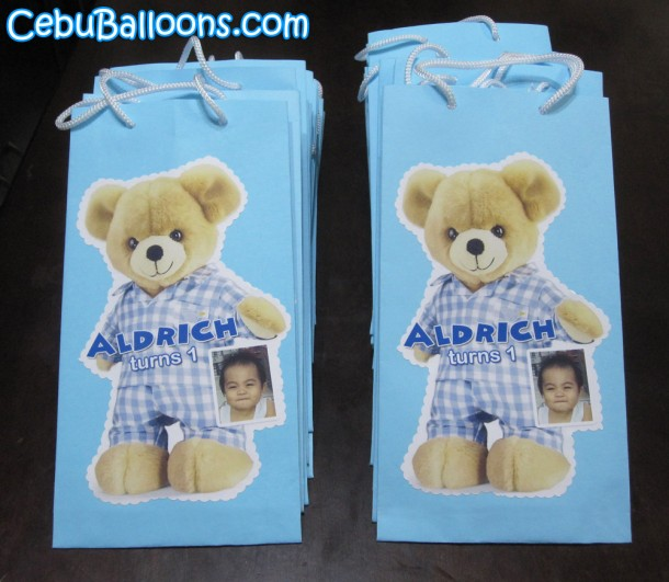 Customized Lootbags - Teddy Bear in Pajamas