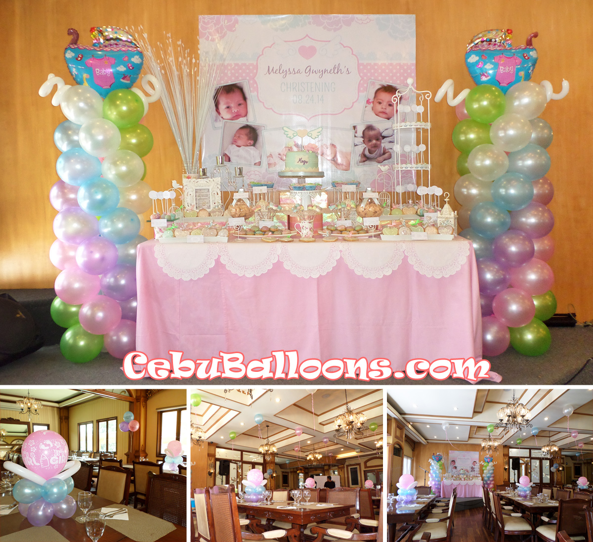 Pino restaurant cebu balloons and party supplies