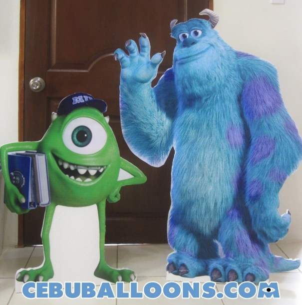 Mike & Sulley Standee