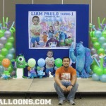 Monsters University Balloon Decoration Package at City Sports Club Cebu