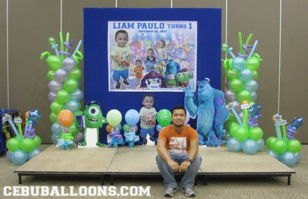 Themes cebu balloons and party supplies for Balloon decoration packages manila