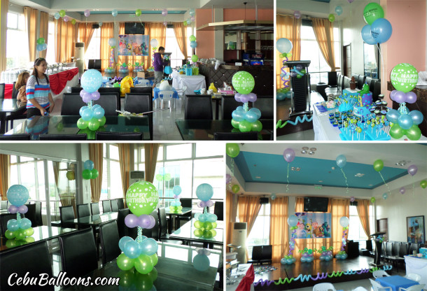 Monster's University Decoration at Capitol Central Hotel