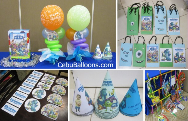 Monsters University Party Package