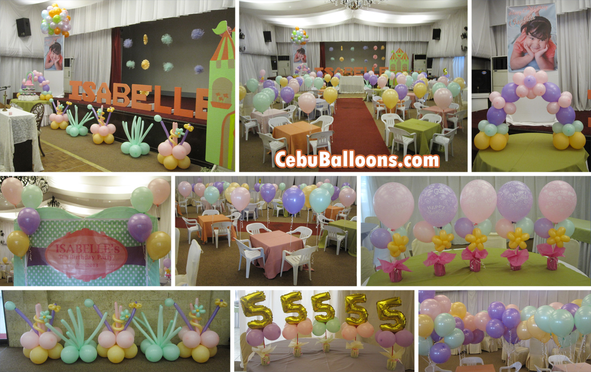 Montebello villa hotel cebu balloons and party supplies for 21st birthday decoration packages