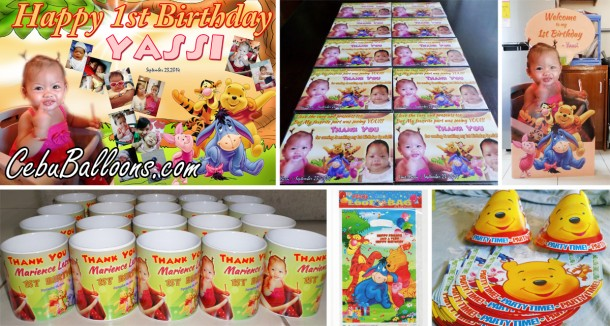 Pooh & Friends Party Supplies