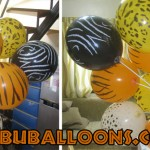 Safari Balloons on Stick