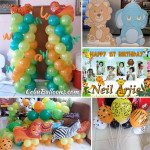 Safari Kiddie Party Decors at a Residence in Basak, Mandaue