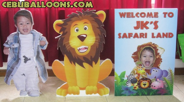 Safari Styro Standees