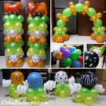 Safari cebu balloons and party supplies for Balloon decoration packages manila