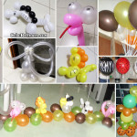 Safari design using twisted Balloons