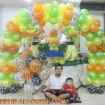 Safari theme Balloon Arch