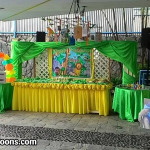 Safari-theme Decors with Party Supplies at Metro Park (Khyle)