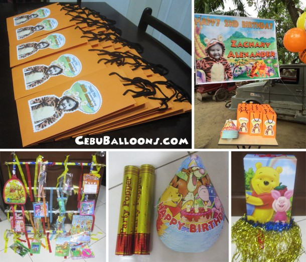 Tigger Theme Party Package