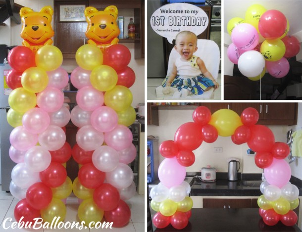 Winnie the Pooh Balloons & Standee at Maguikay (Samantha Carmel)