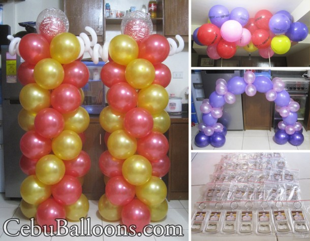 Balloon Decoration & Giveaways for 88th Birthday at Dyno Finance Center