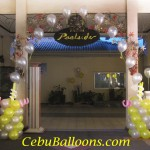 Entrance Arch (Small Columns with Flying Balloons)