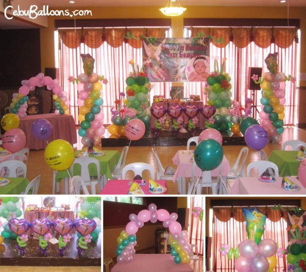 Fairy Theme Balloon Decoration Package at Hannah's Party Place