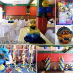 Minions Balloon Decoration (for Zealthiel's 1st Birthday) at Hannah's Ground Floor
