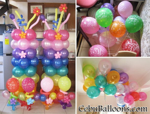 Others cebu balloons and party supplies for Balloon decoration packages