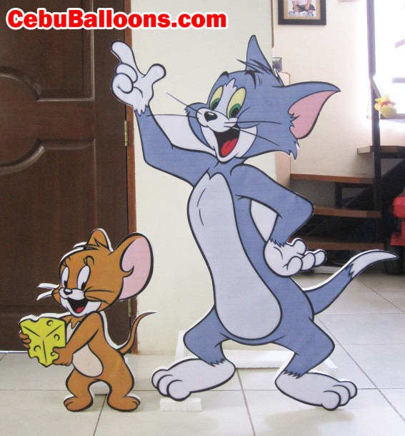 Tom & Jerry Styro Standees