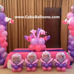Sofia the First Balloon Decoration Package at Diamond Hotel Boardroom