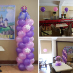 Sofia the First Balloon Decoration for Chrisjoia Deanne's 4th Birthday at Sugbahan