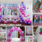 Sofia the First Balloon Decors & Kiddie Party Package at Sacred Heart Center (St Joseph Hall)