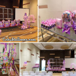 Sofia the First Balloon Decors for Abby's 2nd Birthday at Bayfront Hotel (Bantayan 1)