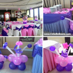 Sofia the First Balloons and Styro Standee at Premiere Citi Suites