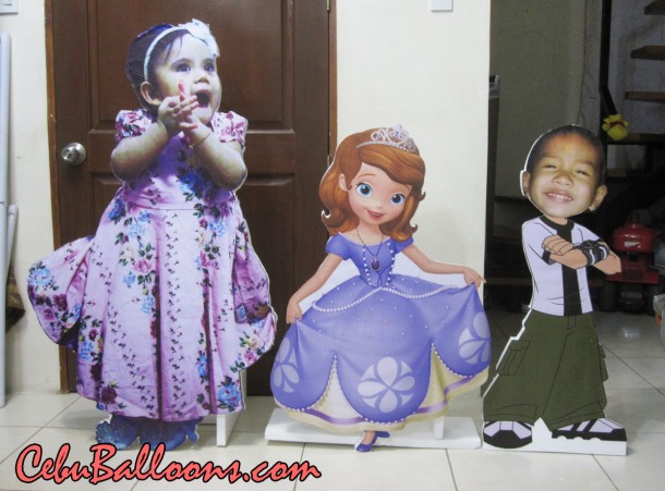 Sofia the First & Celebrant Ben 10 Styro Standees