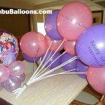 Sofia the First Stick Balloons and Centerpiece