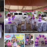 Sofia the First Sulit Balloon Decoration Package B with Tarp at Inayawan