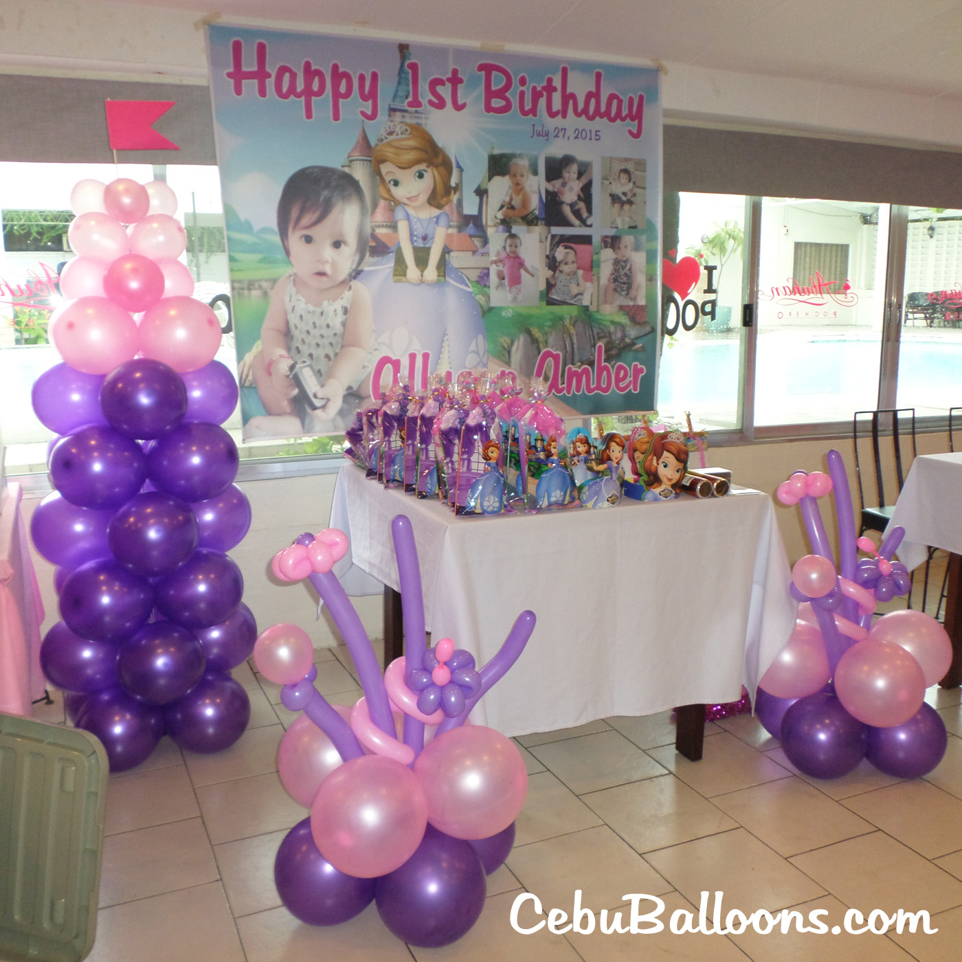 Sofia The First Decor And Party Supplies At Abuhan South
