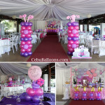 Sofia the first Balloon Decoration Package with Standee at Beverly View Events Pavillion
